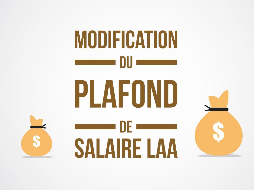 Loyco augmentation du plafond de salaire laa - Plafond indemnites chomage ...
