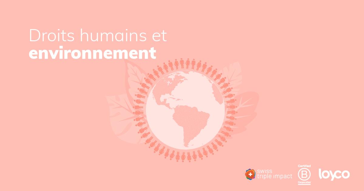 Webinaire : Les entreprises s'engagent pour les droits humains et l'environnement